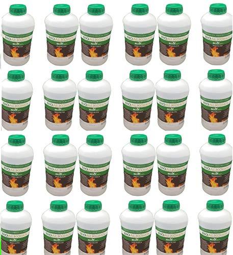 Bioethanol Fuel Liquid for Fires Fuel Eco Line Premium Grade Quality, Clean Burn Bio Ethanol 24L