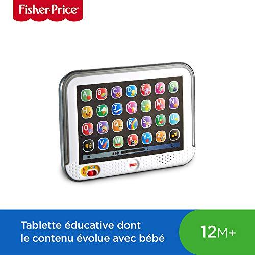 Fisher-Price Ma Tablet Puppy Giocattolo per Imparare Lettere, Mots e Animali, 12 Mesi e Plus, CDG56