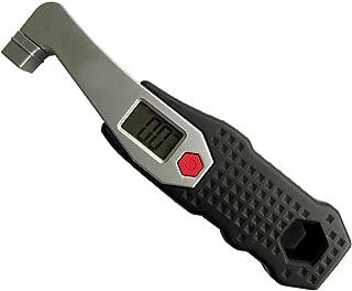 Meirun Diy Motorcycle Digital Tire Pressure Gauges,Portable Tire Gauge,LCD Display Air Pressure Testor