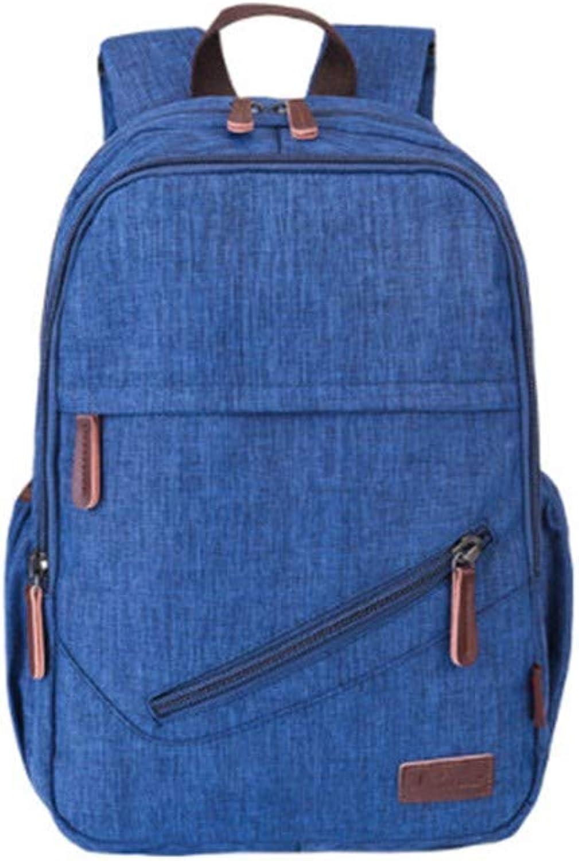 BackpackBackpack mnnlicher Trend groe Kapazitt wasserabweisend High School College Student Tasche lssig Rucksack einfache Computertasche