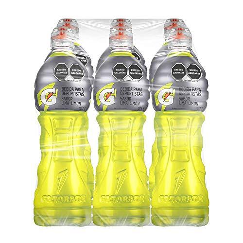Gatorade Sabor de Lima Limón, 1 litro cada uno. 6 Pack