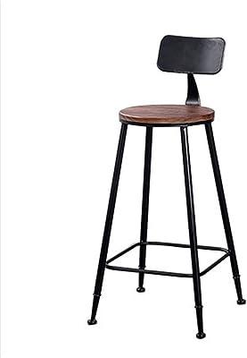 YZjk Sgabello, Sedia da Bar in Legno massello Americana