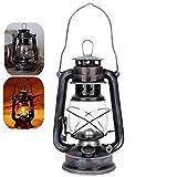 Riuty Lampada da Lanterna Hurricane Lampada da Cherosene in Stile Vintage Lampada da Olio ...