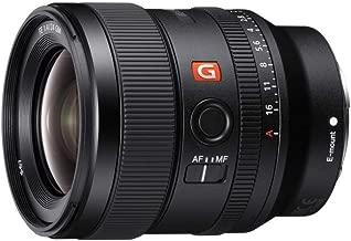 Sony E-mount FE 24mm F1.4 GM Full Frame Wide-angle Prime Lens (SEL24F14GM), Black (Renewed)
