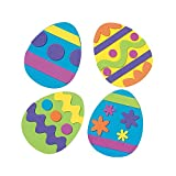 Foam Easter Egg Magnet Craft Kit - Crafts for Kids and Fun Home Activities