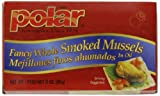 MW Polar Seafood, Smoked Mussels, 3-Ounce (Pack of 24)