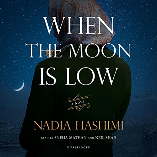 When the Moon Is Low audiobook cover art