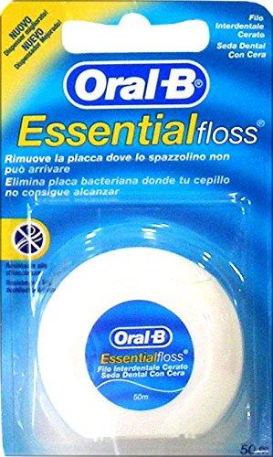 Oral-b - 12x hilo dental encerado essential floss 50mt.