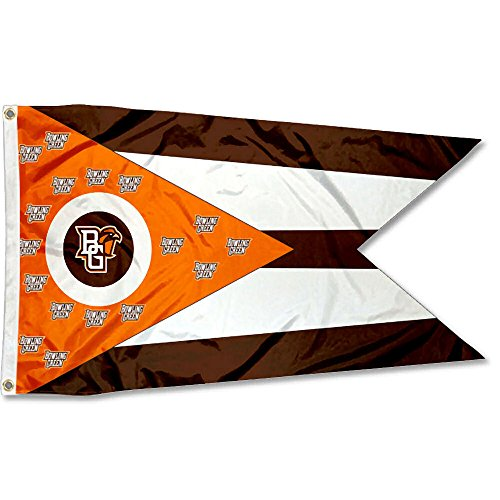 College Flags & Banners Co. Bowling Green State Falcons State of Ohio Flag