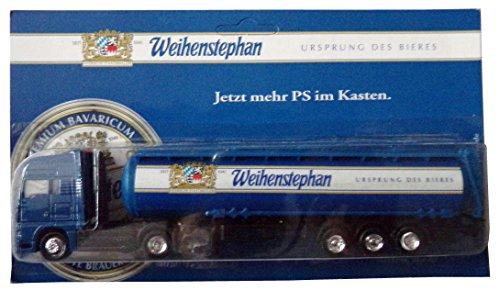 Weihenstephan Brauerei Nr.08 - Ursprung des Bieres - Man - Sattelzug mit Tankauflieger