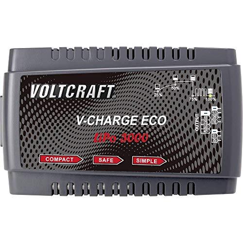Voltcraft V-Charge Eco LiPo 3000 Modellbau-Ladegerät 230V 3A LiPo