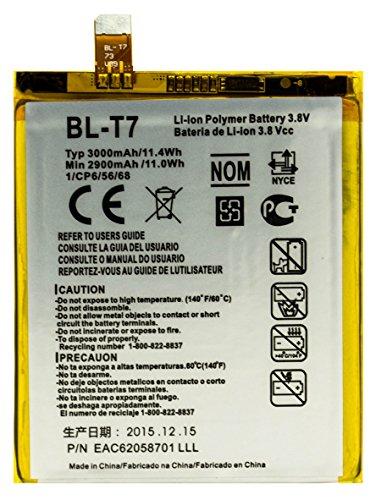 Bastex Batería de repuesto para LG G2 VS980 con herramientas