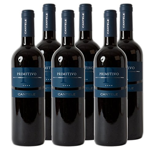 Primitivo IGT Salento rosso Apulien Rotwein Italien 2017 trocken (6x 0.75 l)