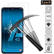 ANEWSIR for Samsung Galaxy A40 Screen Protector【2-Pack】[Easy to Install] [2.5D Edge Round] [Anti-scratch] [Bubble Free] tempered glass screen protector Samsung Galaxy A40