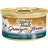 Purina Fancy Feast Gravy Wet Cat Food, Gravy Lovers Turkey Feast in Roasted Turkey Flavor Gravy -...