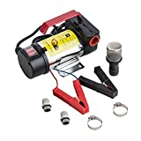 Orion Motor Tech 12V Bio Diesel Kerosene Fuel Transfer Direct Current Pump Kit Nozzle Dispenser