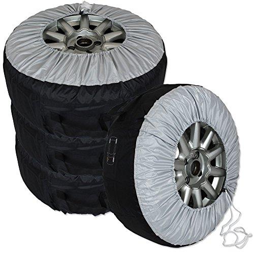 TW24 Autoreifen Schutzhülle - Reifenhülle - Reifentasche - Schutzhülle für Autoreifen 4er Set