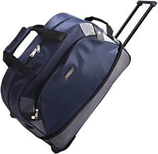 Travel Tote Suitcase,SIYUAN Big Carry-on Rolling Suitcase Weekend Luggage Suitcase Navy Large
