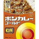 大塚食品 ボンカレーゴールド 【中辛】 180g×5個