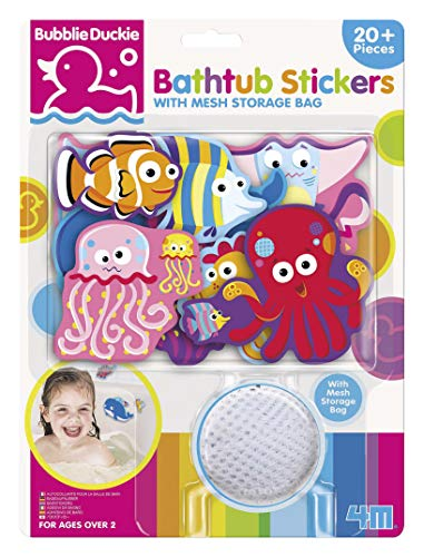 4M Foam Stickers are toys that keep toddlers busy in the bath