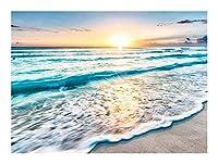 YANGBM 北欧の風景のジグソーパズル-サニービーチの海の装飾画300-5000ピースすべてのピースはユニークで、ピースは完璧にフィットします(大人の子供のための木製ゲームの最高の贈り物) ジグソーパズル (Size : 1000pcs)