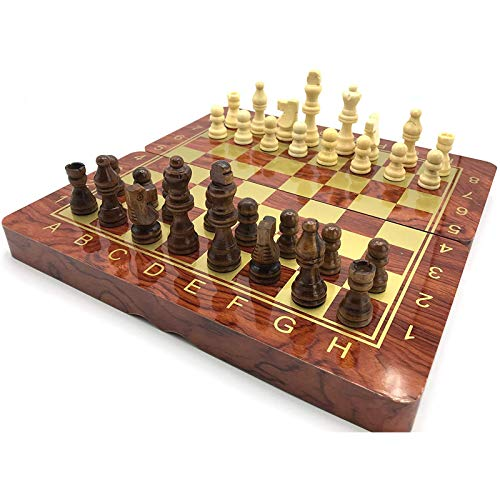 3 In 1 Portable Folding Wooden Set Of Chess 39 X 39 Cm Chess Intelligence, Exchange Game Party