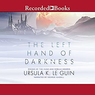 The Left Hand of Darkness                   Auteur(s):                                                                                                                                 Ursula K. Le Guin                               Narrateur(s):                                                                                                                                 George Guidall                      Durée: 9 h et 39 min     47 évaluations     Au global 4,3