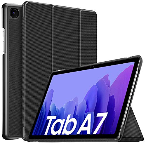 IVSO Case for Samsung Galaxy TAB A7, for Samsung Galaxy TAB A7 case, for Samsung Galaxy TAB A7 10.4 case, Slim Cover Case for Samsung Galaxy TAB A7 T505/T500/T507 10.4 2020, Black