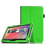 Fintie XIDO X111 Hülle - Premium Kunstleder Schutzhülle Tasche Etui Folio Hülle mit Ständerfunktion für XIDO X111 25,4 cm (10 Zoll) Tablet PC, Grün
