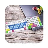 Funda de teclado de silicona para Acer Predator Helios 300 Nitro 5 Gaming Laptop AN515 | Aspire VX 15 VX5-591G V17 VN7-793G-candyblue-