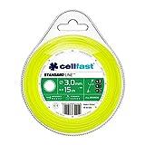 Cellfast 35-005 Fil de coupe rond , Jaune , Ø 3 mm , Longueur 15 m