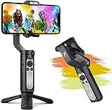 Smartphone Gimbal, Hohem Gimbal Stabilisator mit EIN-klick-Videoproduktion, Sportmodus und Gesichtsverfolgungsfunktion, Gimbal für iPhone XR/XS/11/12, Samsung, Huawei P40, Mate30 pro usw.