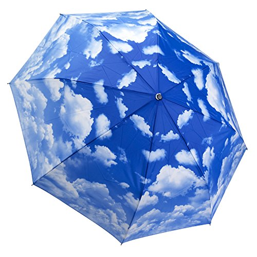 Galleria Clear Skies Folding Umbrella