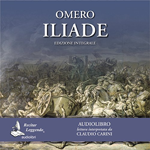 Iliade audiobook cover art