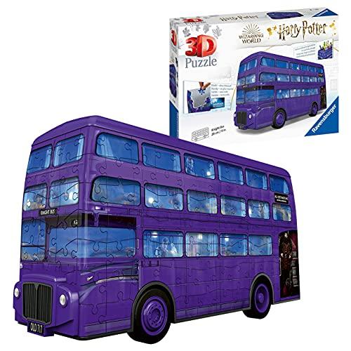 Ravensburger London Bus Harry Potter 3D Puzzle, Multicolore, 11158