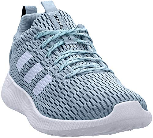 adidas New Women's Lite Racer Climacool Cross Trainer Ash GreyBlue 8.5