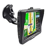 GPS Poids Lourds 7 Pouces Europe 52 Carte Système de Navigation Automatique à Ecran Tactile Utilisation dans Poids Lourds et Voiture