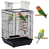 Yaheetech Jaula para Pájaros Jaula con Juguetes Mascota