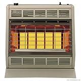 Empire Infrared Heater Liquid Propane 30000 BTU, Manual Control 3 Settings