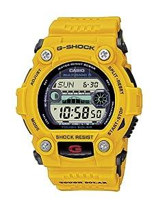 Casio Men's Gw7900cd-9 G-shock Rescue Digital Sport Watch Limited Edition Automic Solar Power Yellow Color Rare Watch Gw7900cd-9