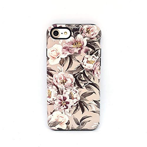 Fiori Floreale cover case custodia per iPhone 5, 5s, SE 2016, 6, 6s, 7, 7 plus, 8, 8 plus, X, XS, 11, per Galaxy S6, S7, S8