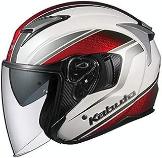 オージーケーカブト(OGK KABUTO)バイクヘルメット ジェット EXCEED DEUCE(デュース) パールホワイト (サイズ:M) 584498
