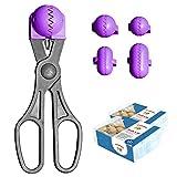 La Croquetera Pack- Utensilio Multiusos Color Morado - 4 moldes Intercambiables...