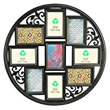 Giftgarden 4x6 Collage Picture Frames for Wall 9 Openings, Multi Photo Frame for Family Pictures Wall Decor, Black