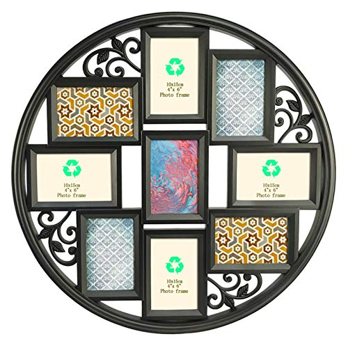 Giftgarden 4x6 Collage Picture Frames for Wall 9 Openings, Multi Photo...