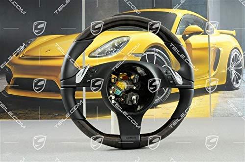NEU Porsche Panamera 970/Cayenne 958 Lenkrad Multifunktion/Heizung Schwarz+BIRKE