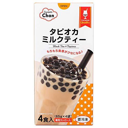 【冷凍】Chanタピオカミルクティー4食入り×3箱