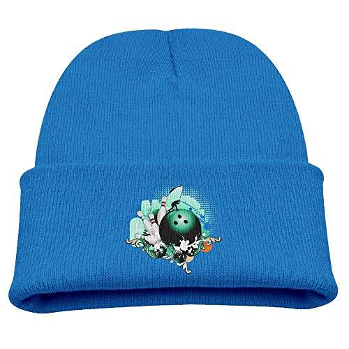 Coole Bowling Baby Beanie Hut Kleinkind Winter warm Stricken wollene Uhr Cap für Kinder