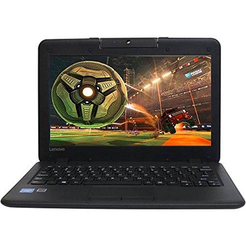 2016 Lenovo Premium Built High Performance 11.6 inch HD Laptop Intel Celeron Dual-Core Processor 4GB RAM 32G SSD Webcam WiFi HDMI Windows 10 - Black