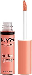 NYX Professional Makeup Butter Gloss, Sunday Mimosa, 0.27 Ounce